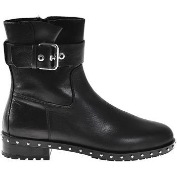 Schoenen Dames Enkellaarzen Elvio Zanon I6201N Zwart