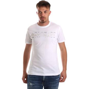 Textiel Heren T-shirts korte mouwen Navigare NV31081 Wit