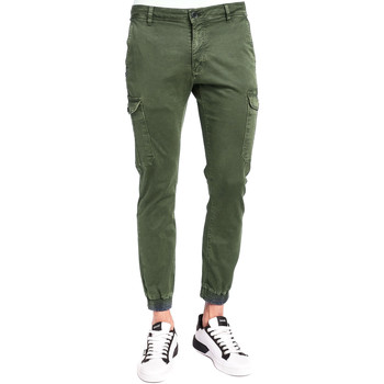 Textiel Heren Cargobroek Gaudi 921BU25011 Groen