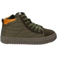 Schoenen Kinderen Hoge sneakers Grunland PO1079 Groen