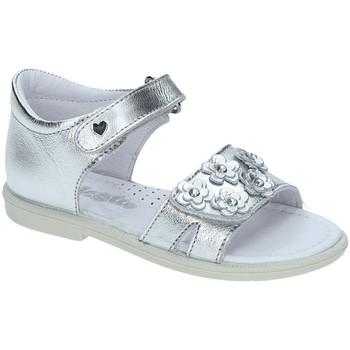 Schoenen Meisjes Sandalen / Open schoenen Falcotto 1500702-02-9111 Zilver