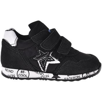 Schoenen Kinderen Lage sneakers Melania ME1247B8I.A Noir