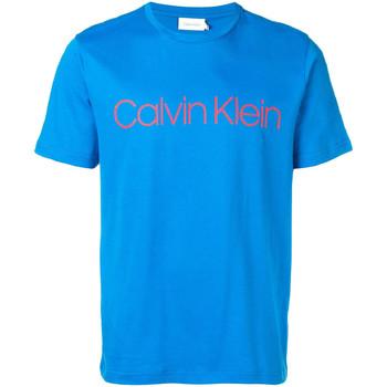 Textiel Heren T-shirts korte mouwen Calvin Klein Jeans K10K103078 Blauw