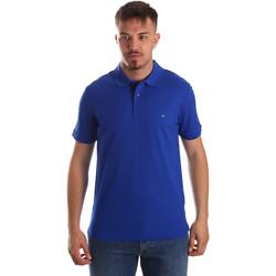 Textiel Heren Polo's korte mouwen Calvin Klein Jeans K10K102758 Blauw