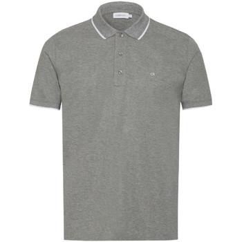 Textiel Heren Polo's korte mouwen Calvin Klein Jeans K10K103019 Grijs