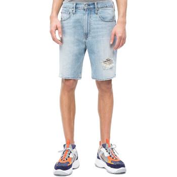 Textiel Heren Korte broeken / Bermuda's Calvin Klein Jeans J30J310950 Blauw