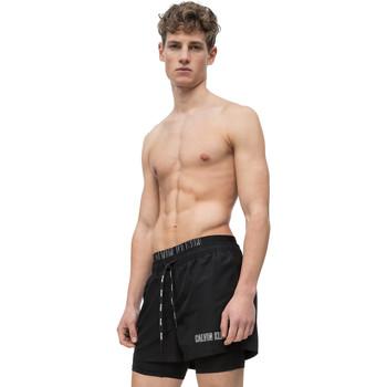 Textiel Heren Zwembroeken/ Zwemshorts Calvin Klein Jeans KM0KM00298 Zwart