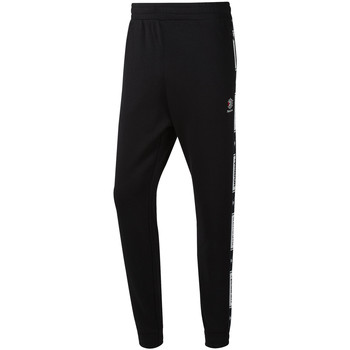 Textiel Heren Trainingsbroeken Reebok Sport DT8143 Zwart