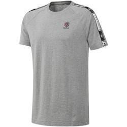 Textiel Heren T-shirts korte mouwen Reebok Sport DT8146 Grijs