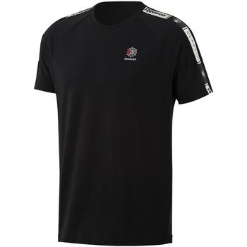 Textiel Heren T-shirts korte mouwen Reebok Sport DT8147 Zwart