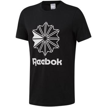 Textiel Heren T-shirts korte mouwen Reebok Sport DT8171 Zwart
