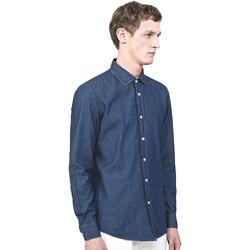 Textiel Heren Overhemden lange mouwen Antony Morato MMSL00520 FA440019 Blauw