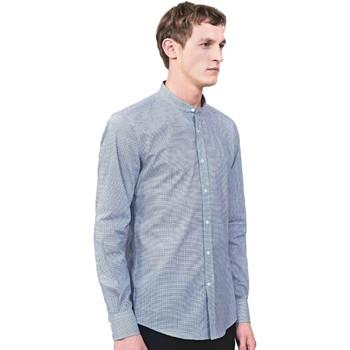 Textiel Heren Overhemden lange mouwen Antony Morato MMSL00526 FA430360 Blauw