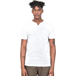 Textiel Heren T-shirts korte mouwen Antony Morato MMKS01487 FA100139 Wit