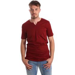Textiel Heren T-shirts korte mouwen Antony Morato MMKS01487 FA100139 Rood