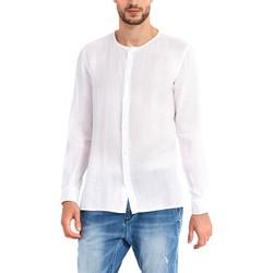 Textiel Heren Overhemden lange mouwen Gaudi 911BU45002 Wit