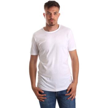 Textiel Heren T-shirts korte mouwen Gaudi 911BU64023 Wit