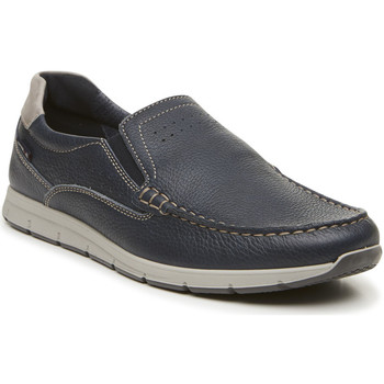 Schoenen Heren Mocassins Enval 3238000 Blauw