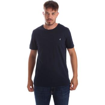 Textiel Heren T-shirts korte mouwen Navigare NV31069 Blauw