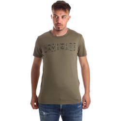 Textiel Heren T-shirts korte mouwen Navigare NV31081 Groen