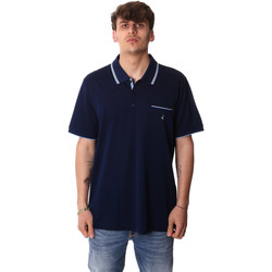 Textiel Heren Polo's korte mouwen Navigare NV72045AD Blauw