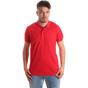 Textiel Heren Polo's korte mouwen Navigare NV82001 Rood