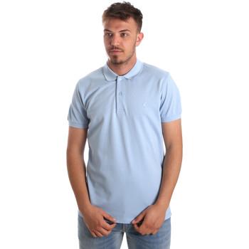 Textiel Heren Polo's korte mouwen Navigare NV82001AD Blauw