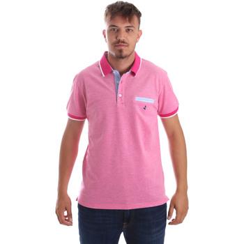Textiel Heren Polo's korte mouwen Navigare NV82092 Roze