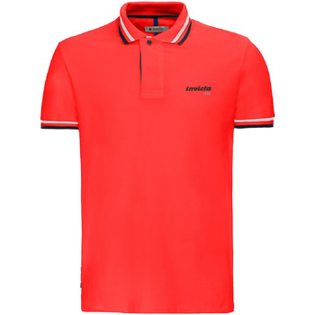 Textiel Heren Polo's korte mouwen Invicta 4452202/U Rood
