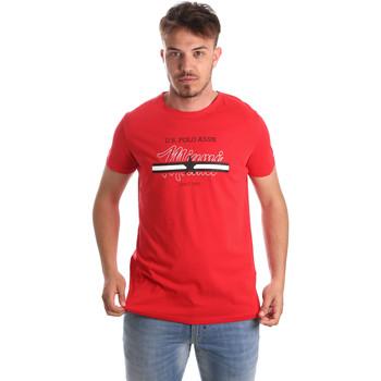 Textiel Heren T-shirts korte mouwen U.S Polo Assn. 51520 51655 Rood