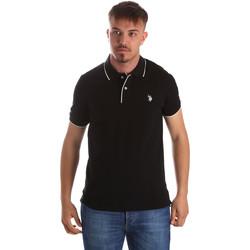 Textiel Heren Polo's korte mouwen U.S Polo Assn. 50336 51263 Zwart