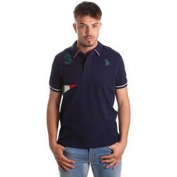 Textiel Heren Polo's korte mouwen U.S Polo Assn. 41029 51252 Blauw