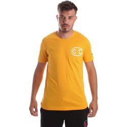 Textiel Heren T-shirts korte mouwen Champion 213251 Geel