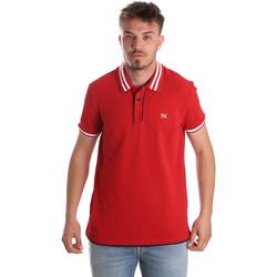 Textiel Heren Polo's korte mouwen Nero Giardini P972210U Rouge