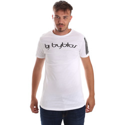 Textiel Heren T-shirts korte mouwen Byblos Blu 2MT0016 TE0046 Wit