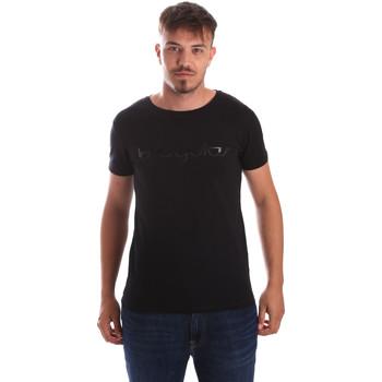 Textiel Heren T-shirts korte mouwen Byblos Blu 2MT0023 TE0048 Zwart