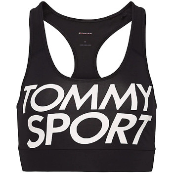 Textiel Dames Sport BHs Tommy Hilfiger S10S100070 Zwart