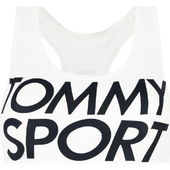 Textiel Dames Sport BHs Tommy Hilfiger S10S100070 Wit