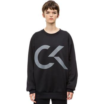 Textiel Dames Sweaters / Sweatshirts Calvin Klein Jeans 00GWH8W353 Zwart