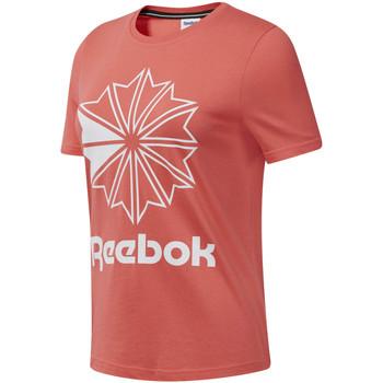 Textiel Dames T-shirts korte mouwen Reebok Sport DT7223 Roze