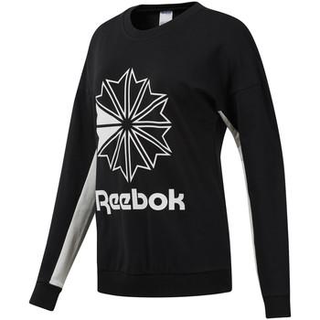 Textiel Dames Sweaters / Sweatshirts Reebok Sport DT7241 Zwart