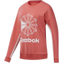 Textiel Dames Sweaters / Sweatshirts Reebok Sport DT7245 Roze