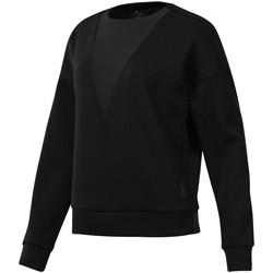 Textiel Dames Sweaters / Sweatshirts Reebok Sport DU4042 Zwart