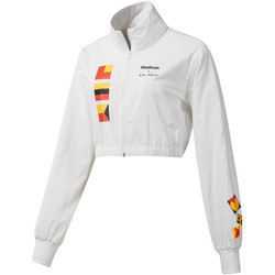 Textiel Dames Wind jackets Reebok Sport DY9376 Wit