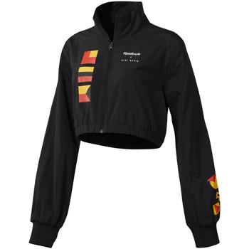 Textiel Dames Wind jackets Reebok Sport DY9377 Zwart