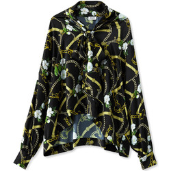 Textiel Dames Overhemden Liu Jo W19499T5335 Noir