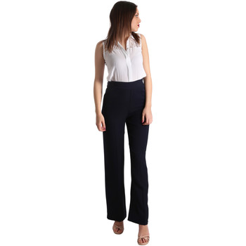 Textiel Dames Jumpsuites / Tuinbroeken Fracomina FR19SP008 Blauw