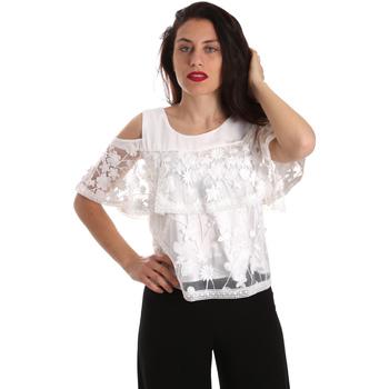 Textiel Dames Tops / Blousjes Fracomina FR19SP605 Wit