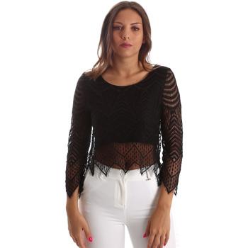 Textiel Dames Tops / Blousjes Fracomina FR19SP099 Zwart