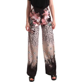 Textiel Dames Losse broeken / Harembroeken Fracomina FR19SM014 Zwart